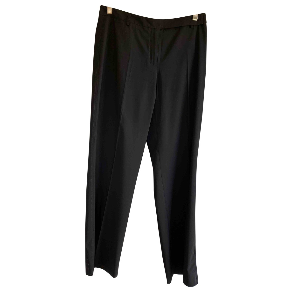 Max Mara Weekend \N Black Trousers for Women 38 FR