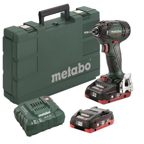 Metabo SSD 18 LTX 200 BL Cordless Impact Driver