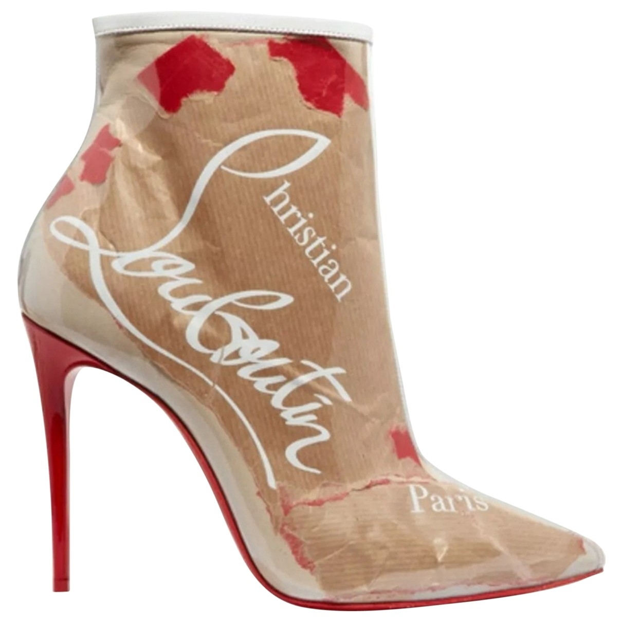 Christian Louboutin So Kate Booty Multicolour Ankle boots for Women 38 EU