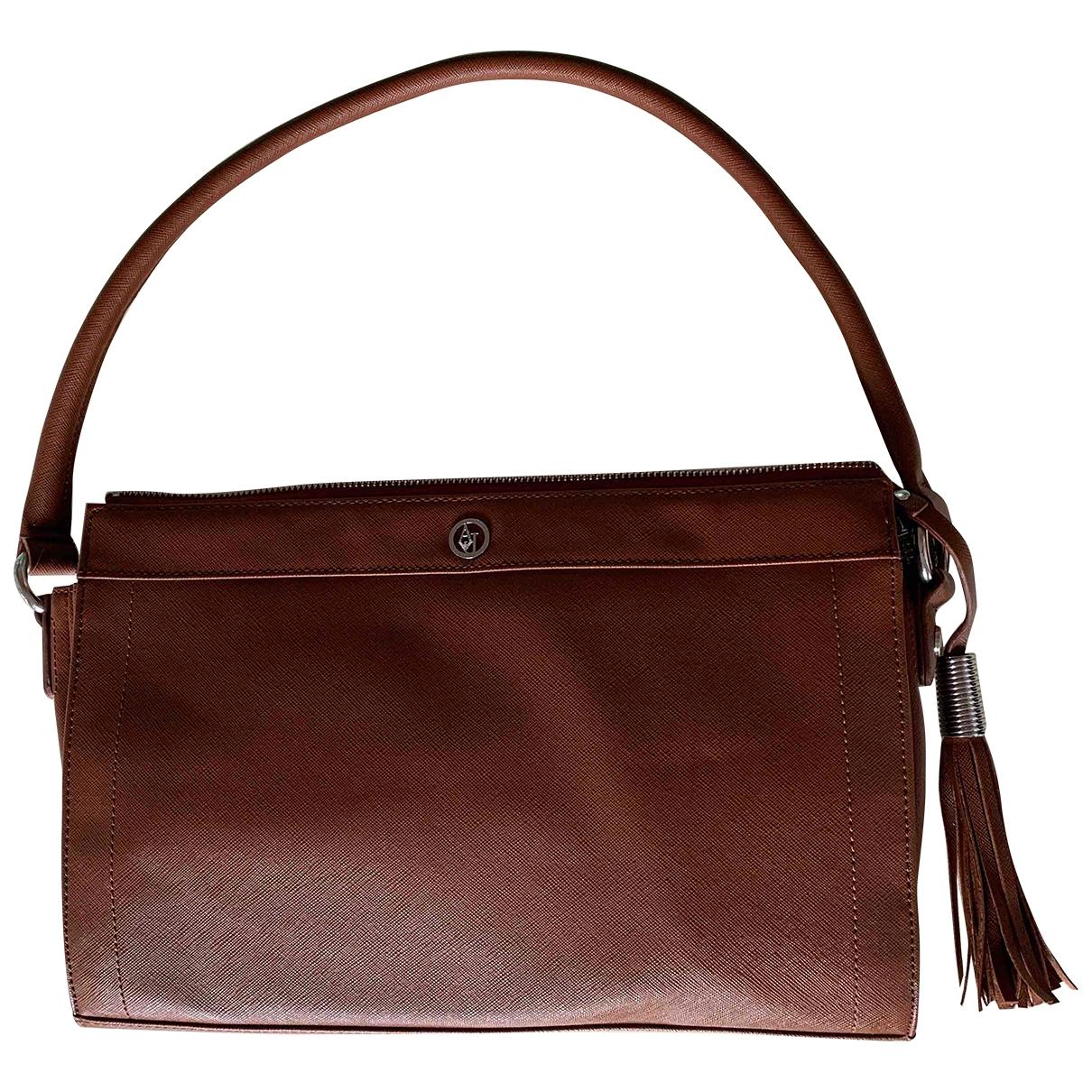 Armani Jeans \N Brown handbag for Women \N