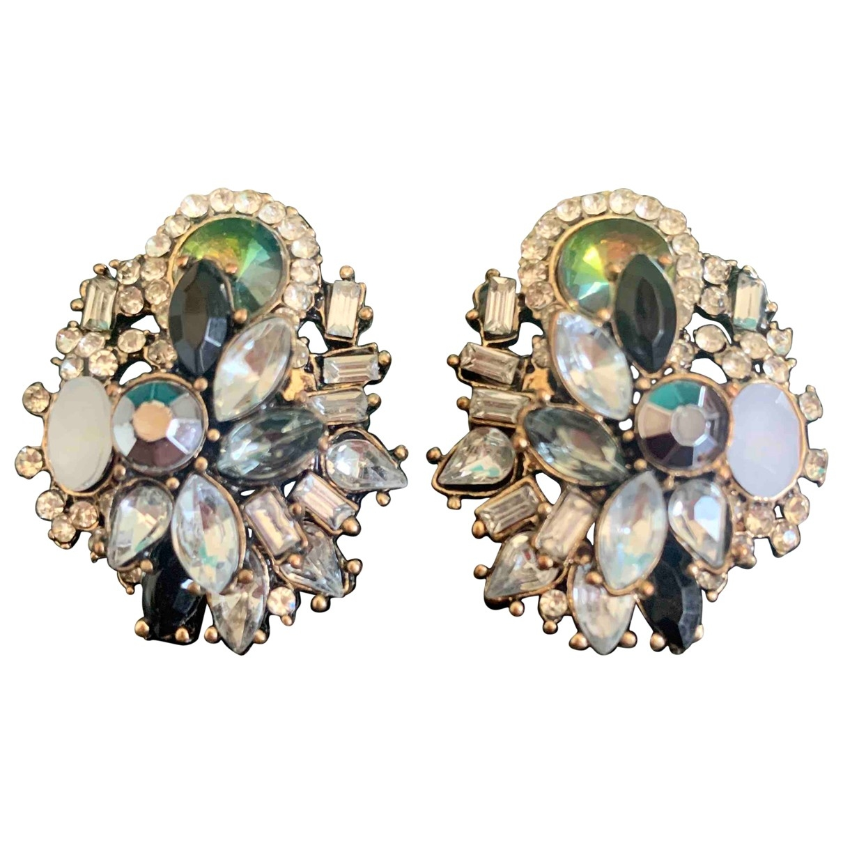 Non Sign?? / Unsigned \N Metal Earrings for Women \N