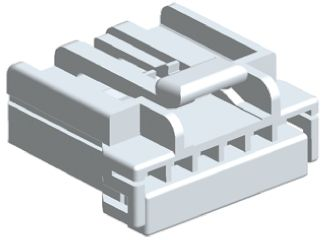 TE Connectivity , MULTILOCK 070 Male Connector Housing, 3.5mm Pitch, 6 Way, 1 Row