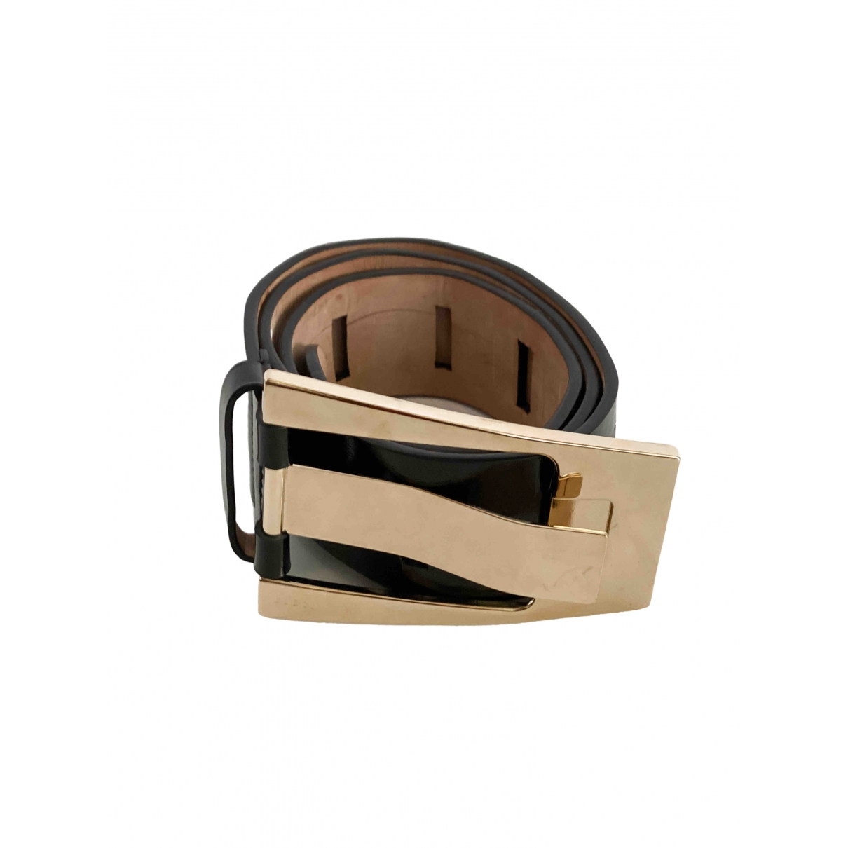 Gucci \N Black Patent leather belt for Women 90 cm