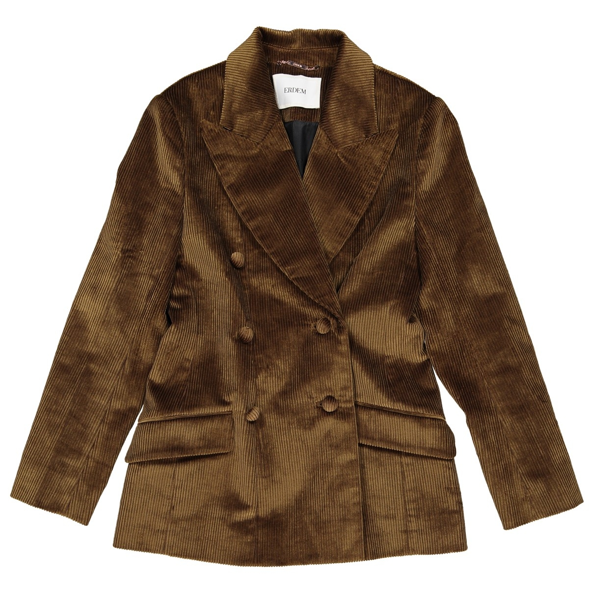 Erdem \N Khaki Velvet jacket for Women 10 UK