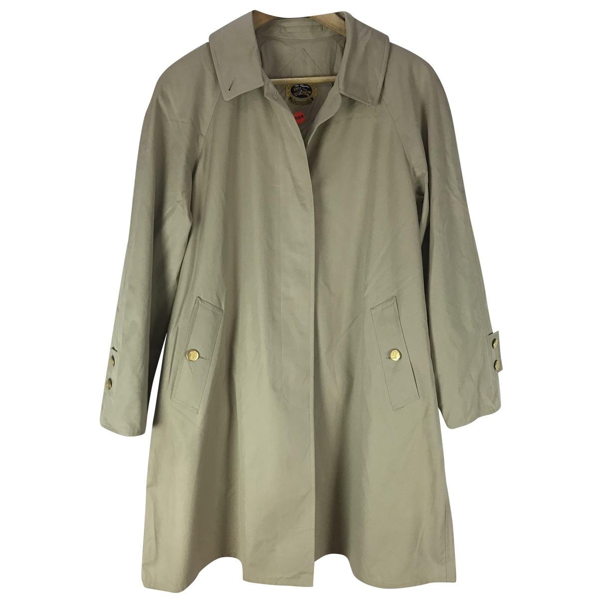 Burberry \N Beige Cotton Trench coat for Women L International