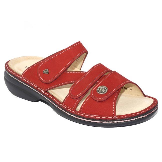 Finn Comfort Ventura Red Nubuck Soft Footbed 37
