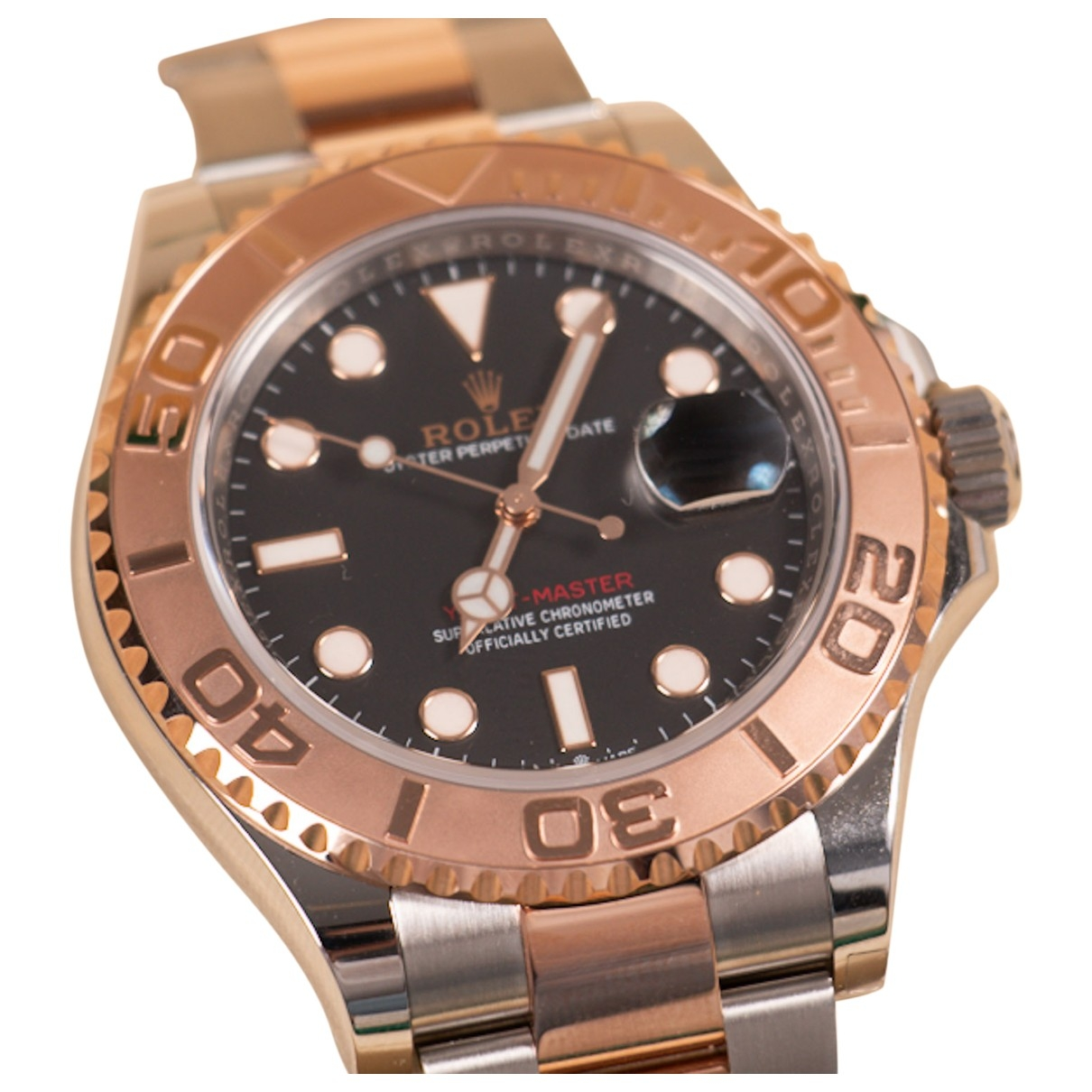 Rolex Yacht-Master Gold gold and steel watch for Men \N