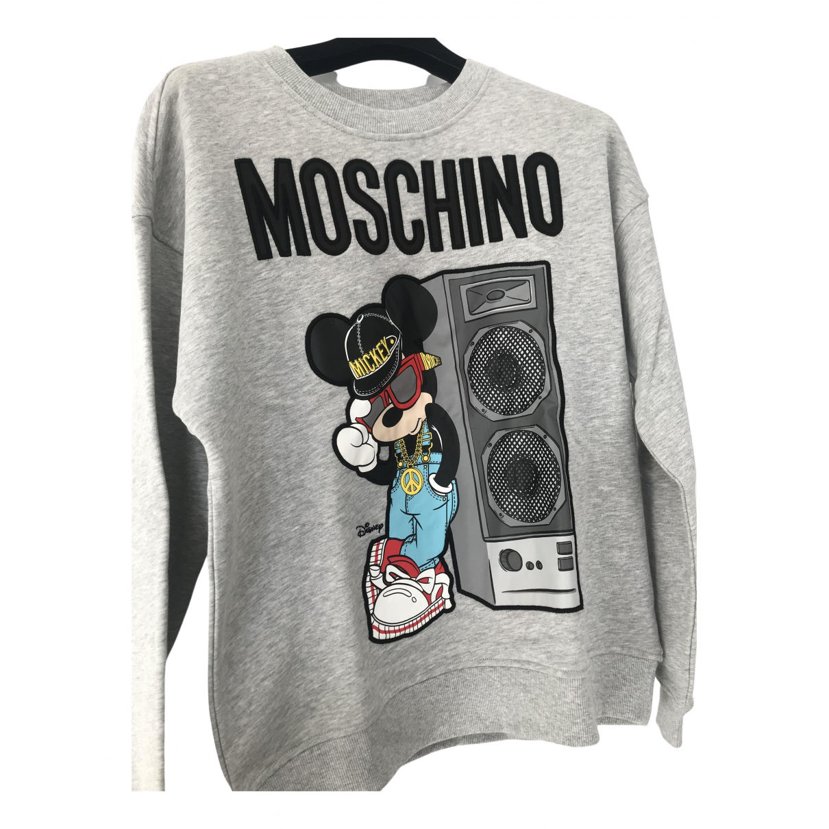 Moschino For H&m \N Grey Cotton Knitwear for Women S International