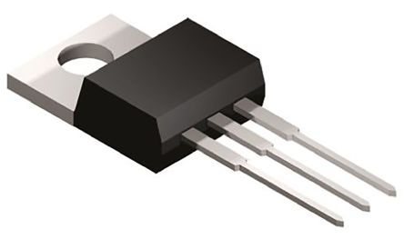 ON Semiconductor , -15 V Voltage Regulator, 1A, 1-Channel Negative, ±2% 3-Pin, TO-220 KA7915ATU (10)