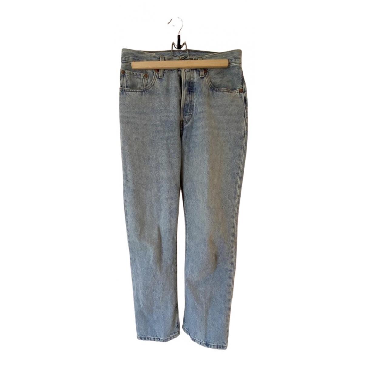 Levi's 501 Blue Denim - Jeans Jeans for Women 27 US