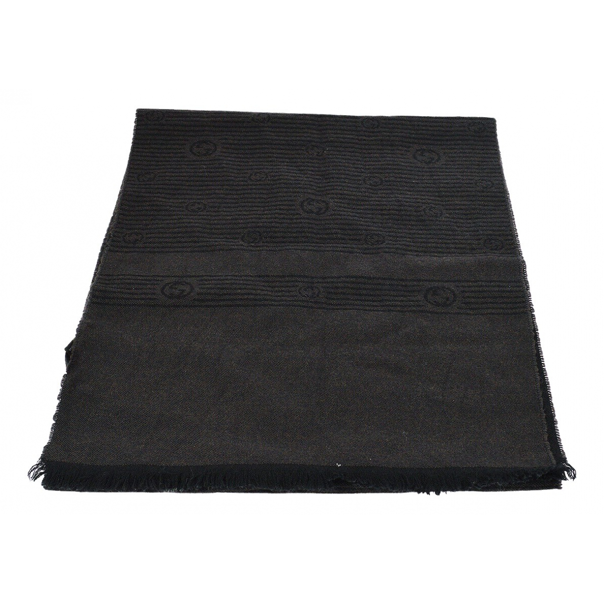 Gucci \N Black Wool scarf for Women \N