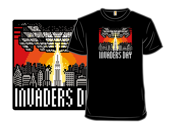 Invaders Day T Shirt