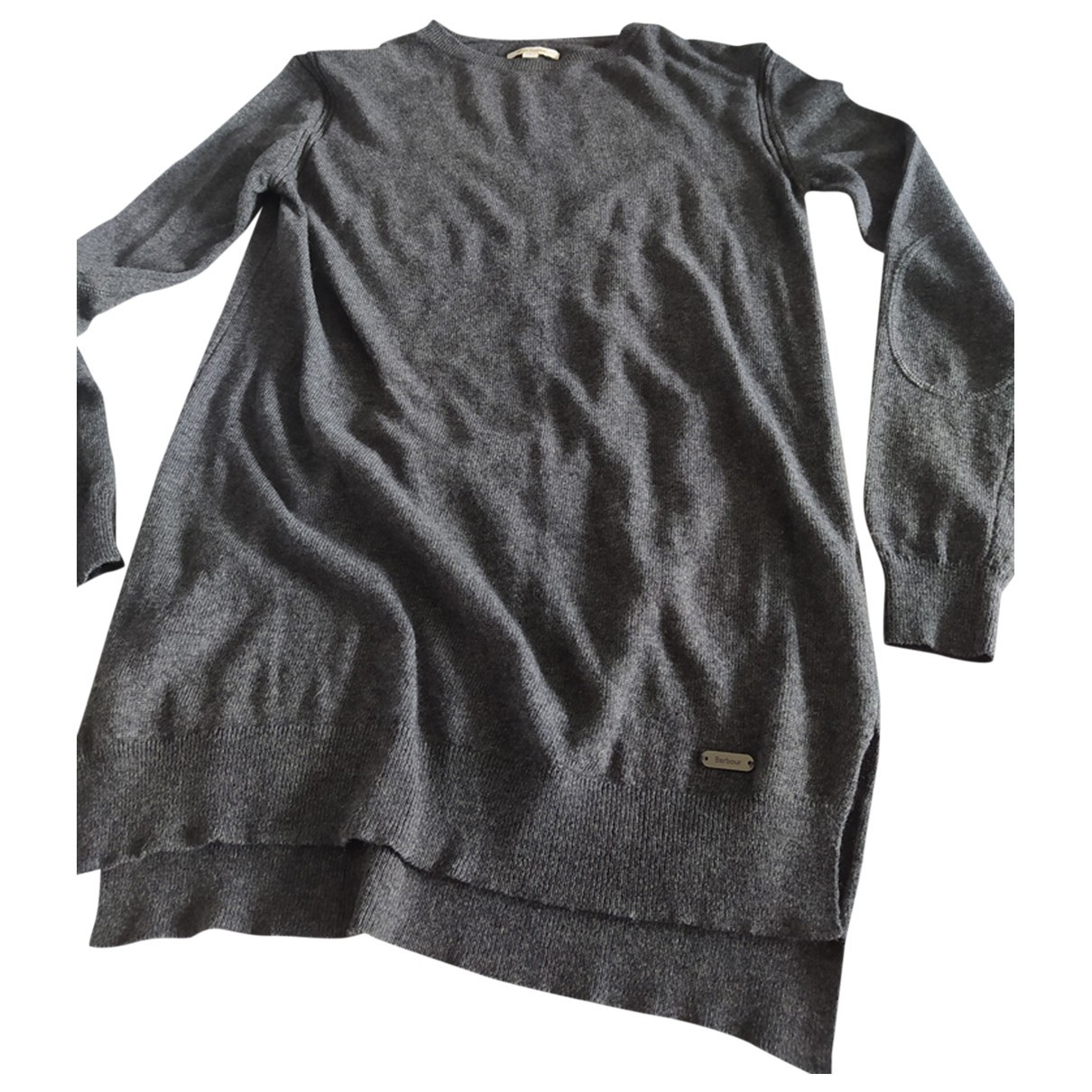Barbour \N Anthracite Wool Knitwear for Women 36 FR