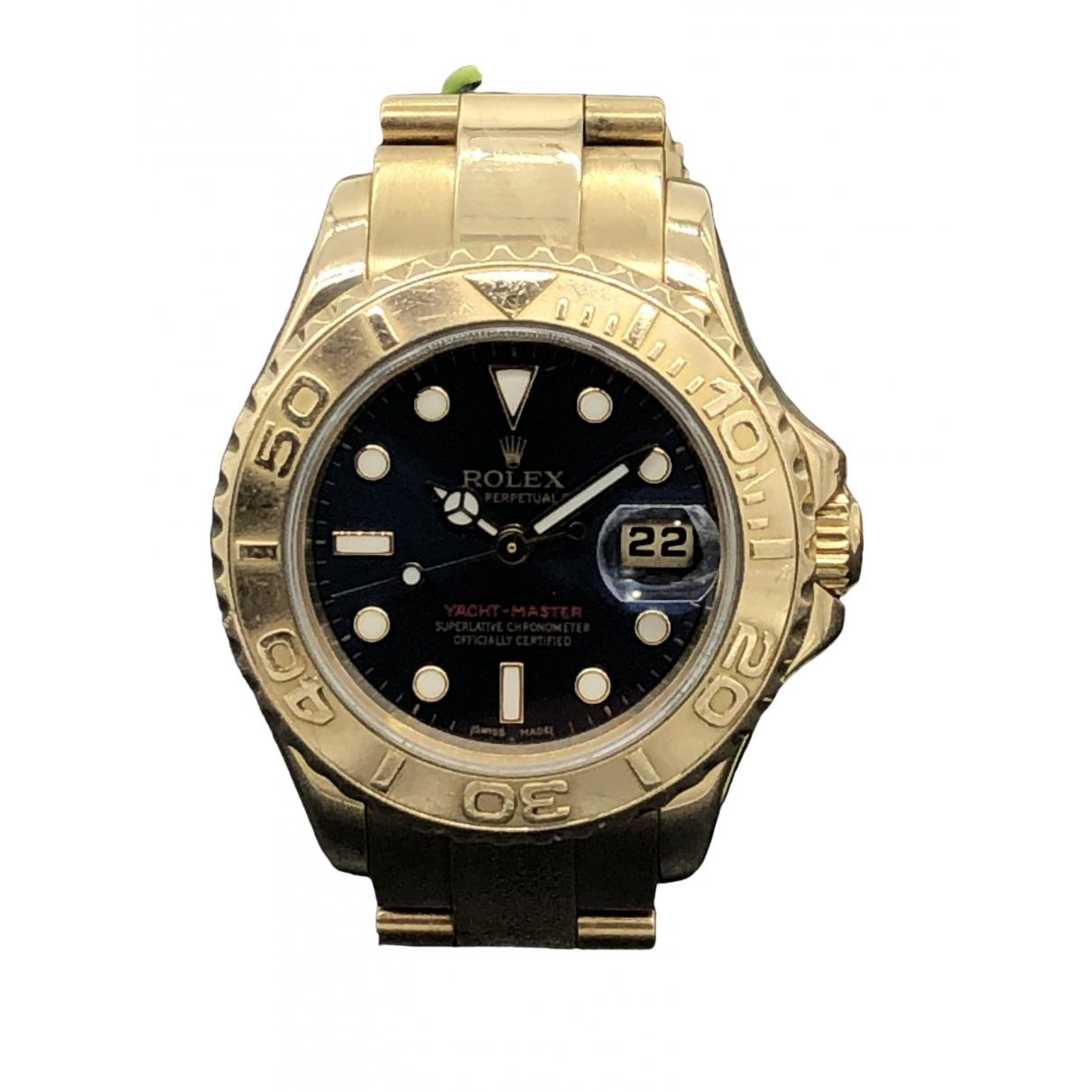 Rolex Yacht-Master Yellow Yellow gold watch for Women \N