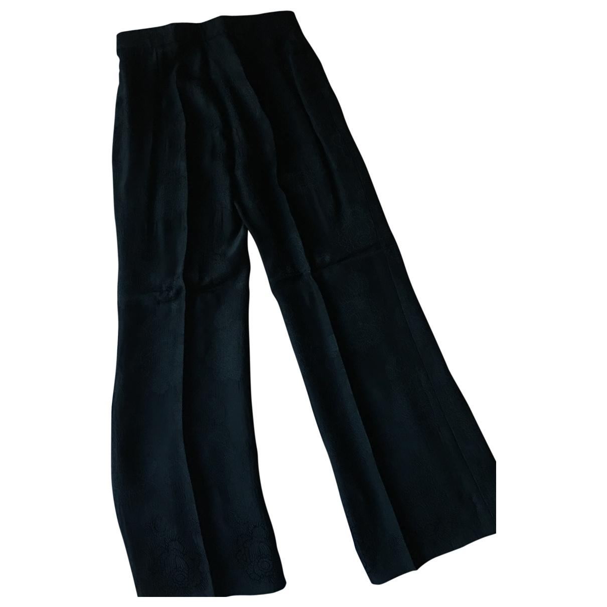 Sandro \N Black Trousers for Women 36 FR
