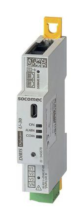 Socomec DIRIS Digiware U-30 3 Phase Electronic Module, 90mm Cutout Height