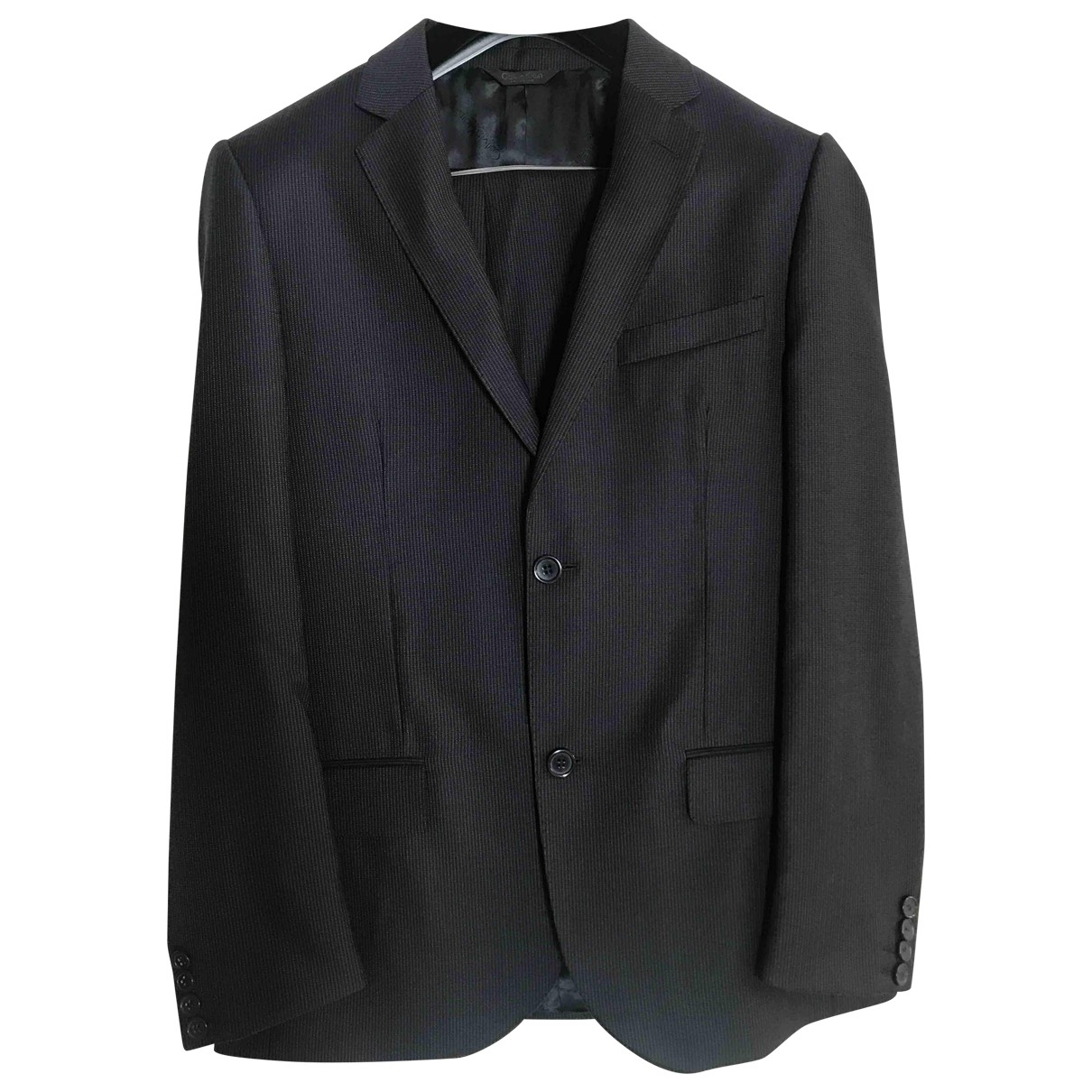 Calvin Klein \N Blue Wool Suits for Men 44 FR