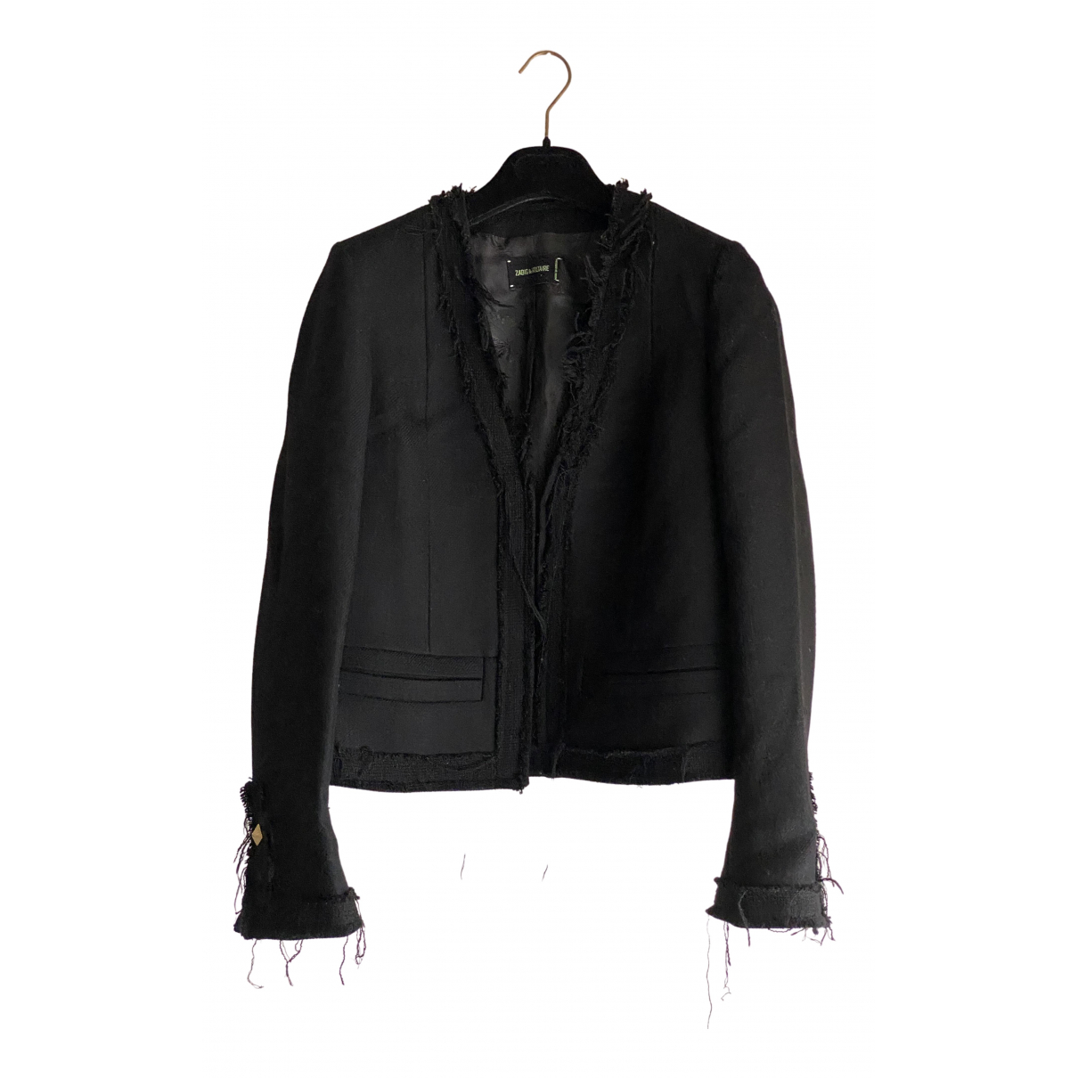 Zadig & Voltaire \N Black Wool jacket for Women 38 FR
