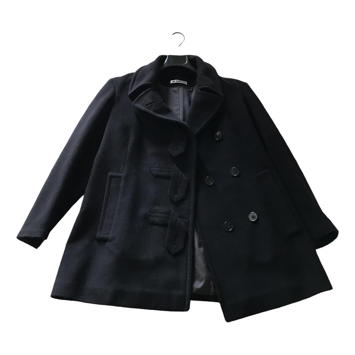 Jil Sander \N Black Cashmere coat for Women 38 IT
