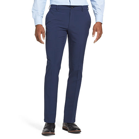 Van Heusen Flex 3 Slim Fit Dress Pant, 30 34, Blue