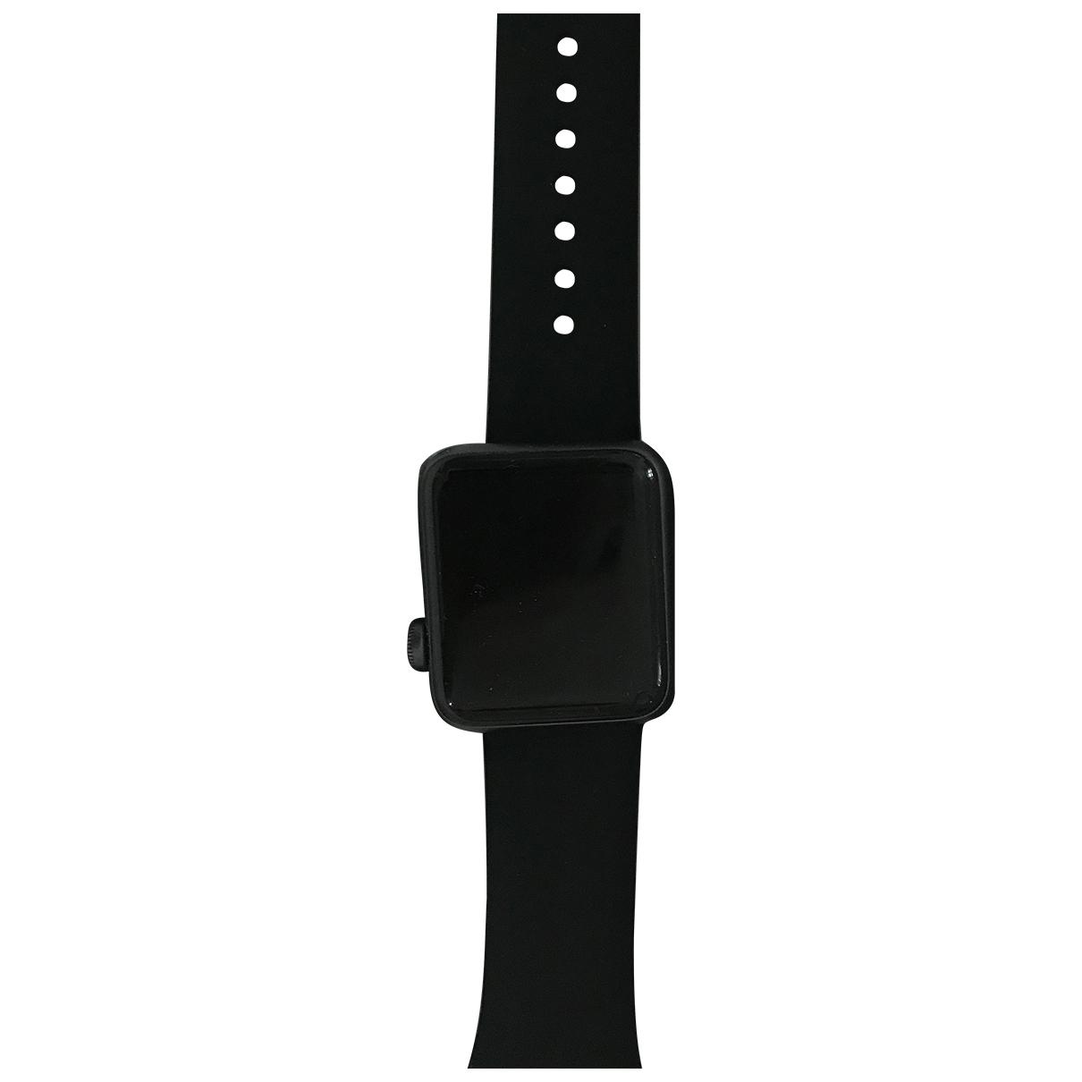 Apple Apple Watch 38mm Black Steel watch for Women \N