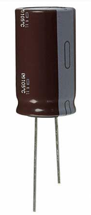 Nippon Chemi-Con 10μF Electrolytic Capacitor 350V dc, Through Hole - EKXG351ELL100MJ20S (200)