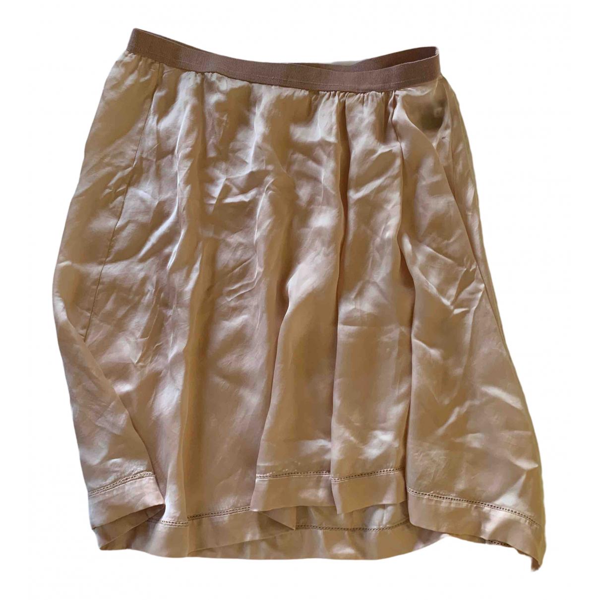 Isabel Marant Etoile \N Pink Silk skirt for Women 40 FR