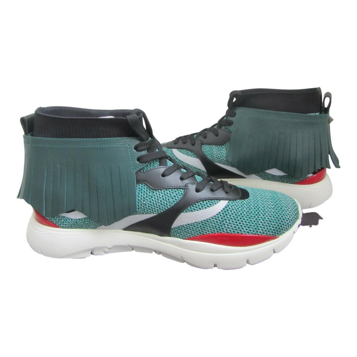Valentino Garavani \N Multicolour Cloth Trainers for Men 41.5 EU