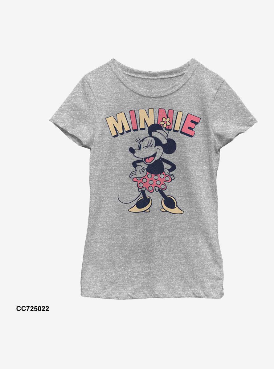 Disney Minnie Mouse Sass Youth Girls T-Shirt