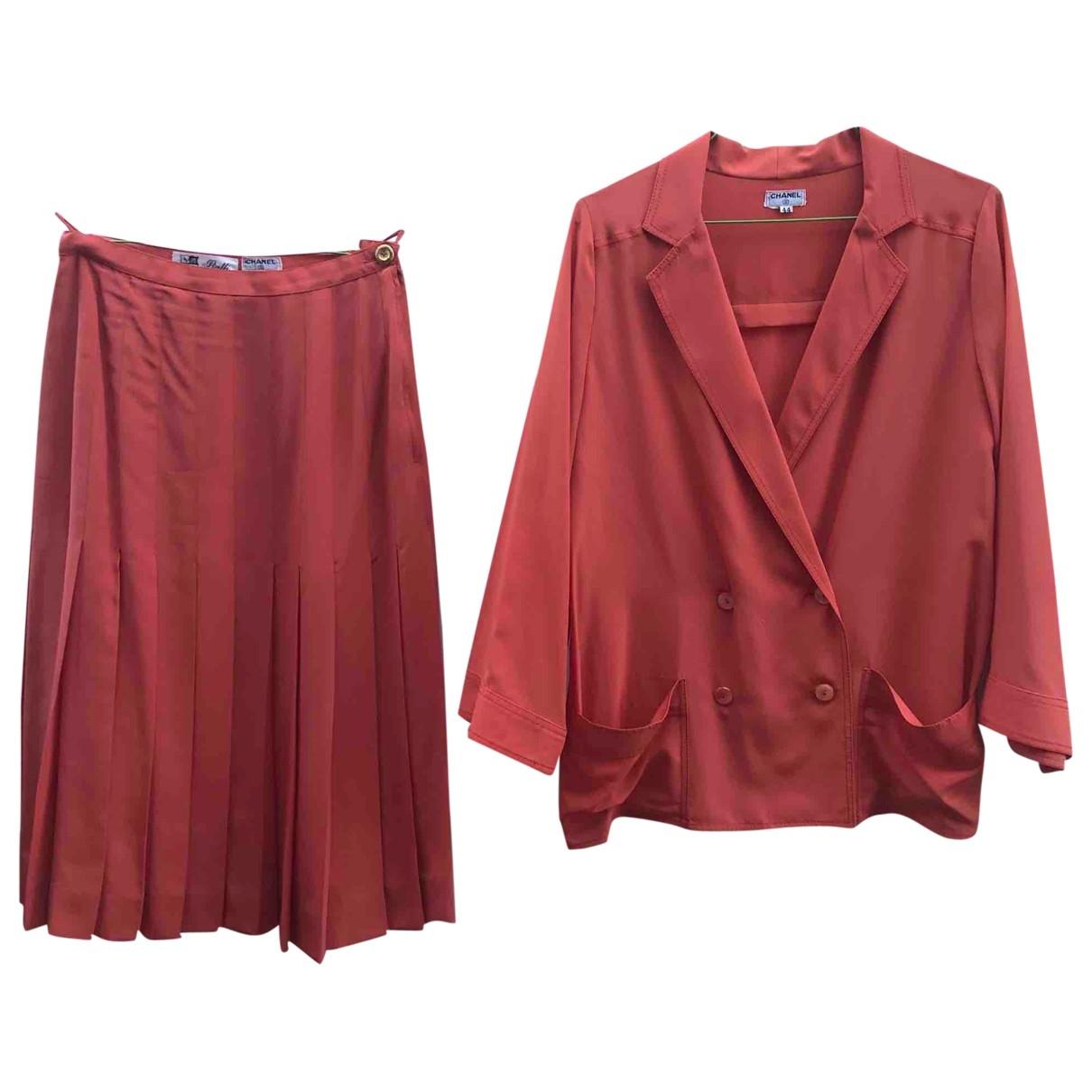 Chanel \N Silk dress for Women 44 IT