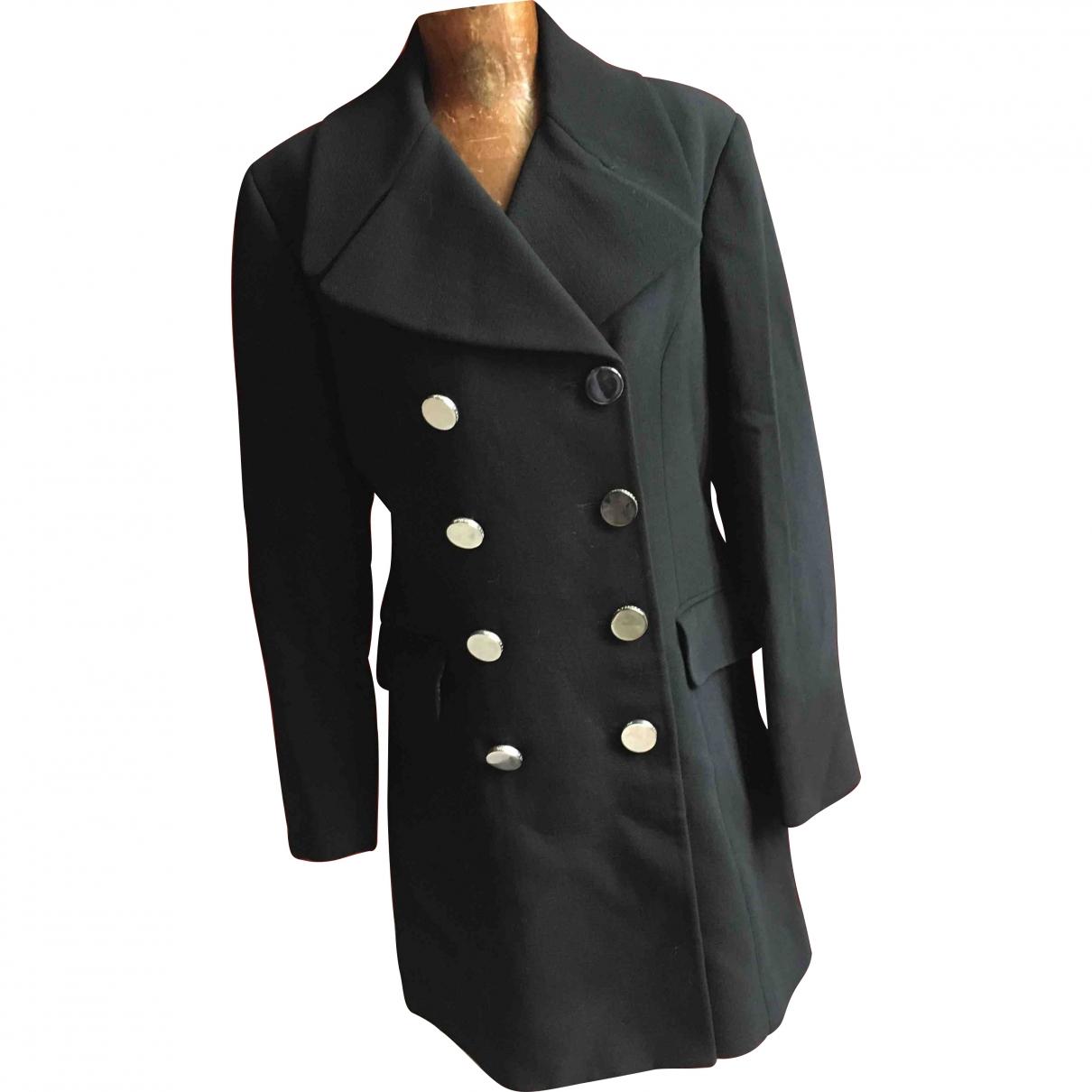 Dolce & Gabbana \N Black Wool coat for Women 44 IT