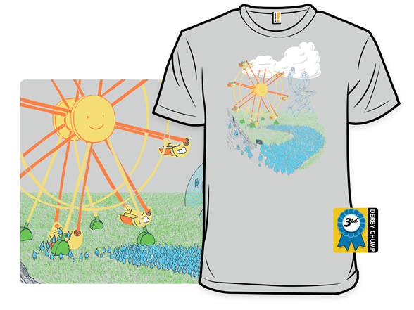 Cycle Of Life: A Ride For Water T Shirt