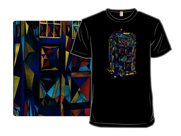 Blue Poly Box T Shirt