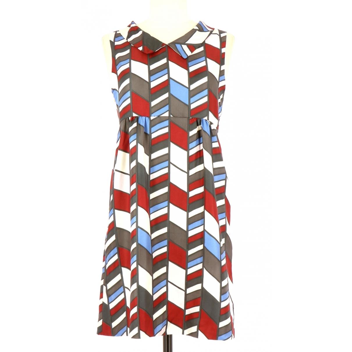 Hugo Boss \N Multicolour Silk dress for Women 38 FR