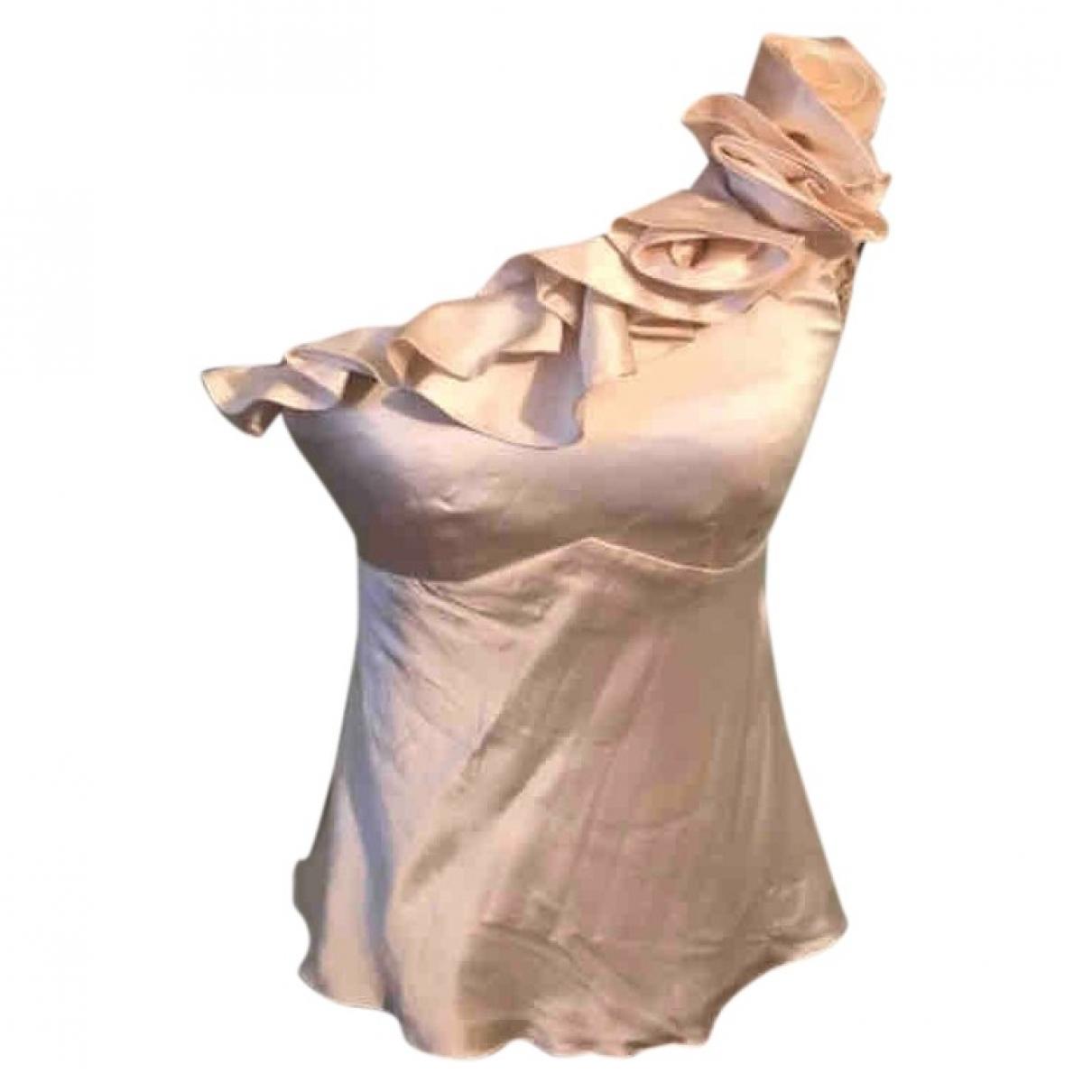 Karen Millen \N Ecru Silk Knitwear for Women 38 FR