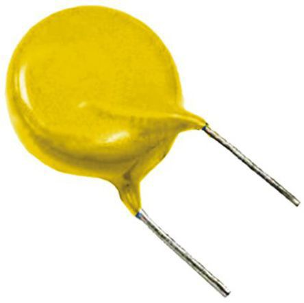 Vishay Single Layer Ceramic Capacitor (SLCC) 4.7nF 500V ac ±20% Y5V Dielectric VY1 Series Series Through Hole (10)