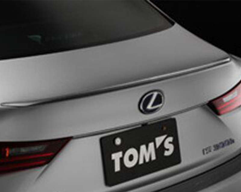 Tom's Racing 64440-TAE30-G Mercury Gray Mica Rear Trunk Lid Spoiler Lexus IS250 13-16