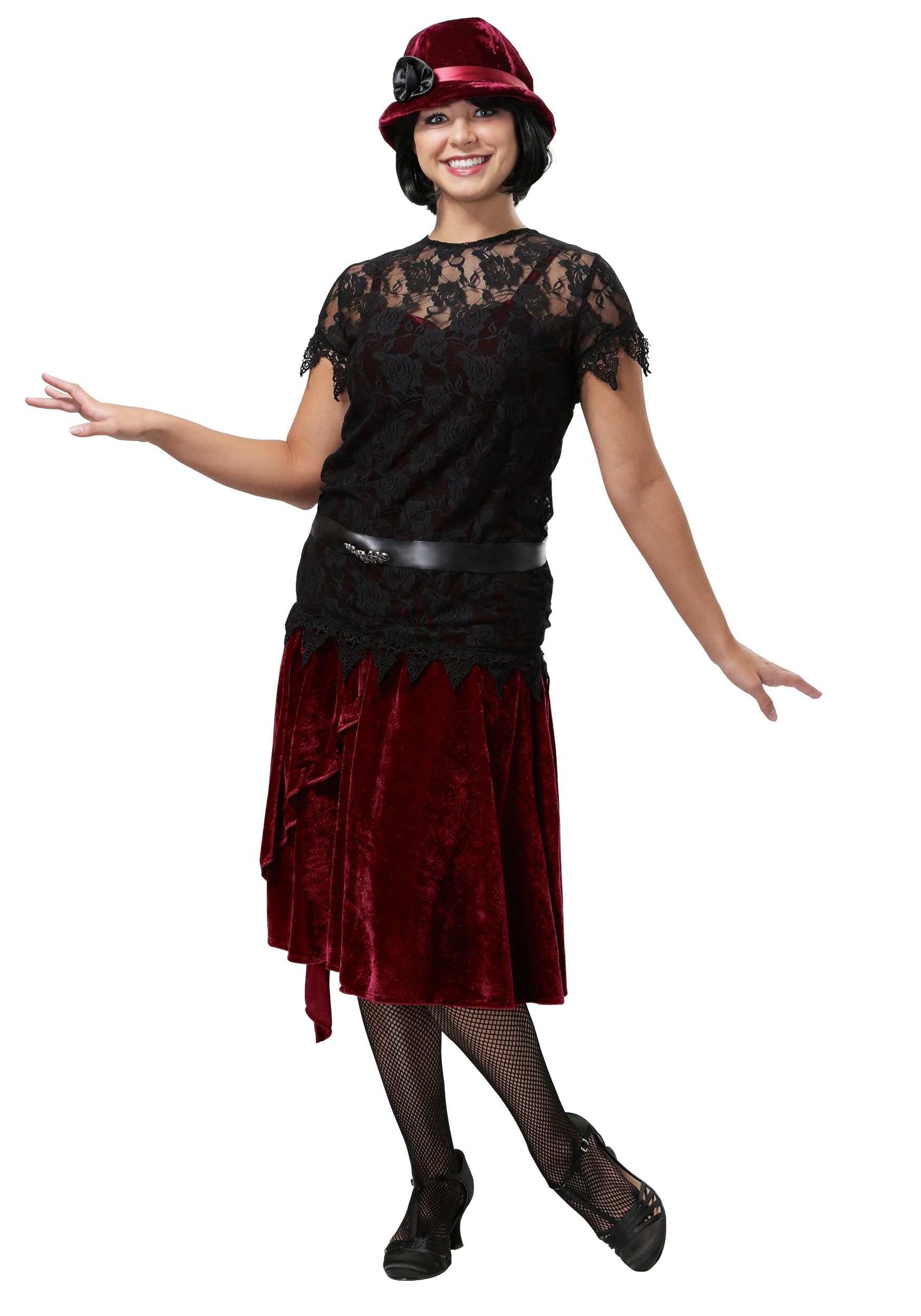 Toe Tappin' Flapper Costume for Women