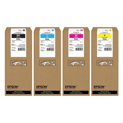 Epson R02L pack d'encre Durabrite Ultra originale combo BK/C/M/Y