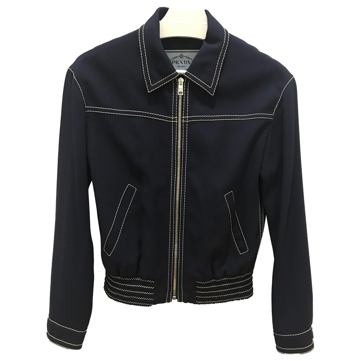 Prada \N Blue jacket for Women 38 IT