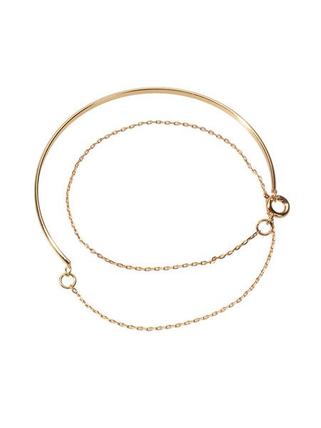 Milanoo Women Bracelet Blond Metal Metallic Bracelets