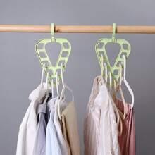 1pc 9 Hole Multifunction Hanger Rack