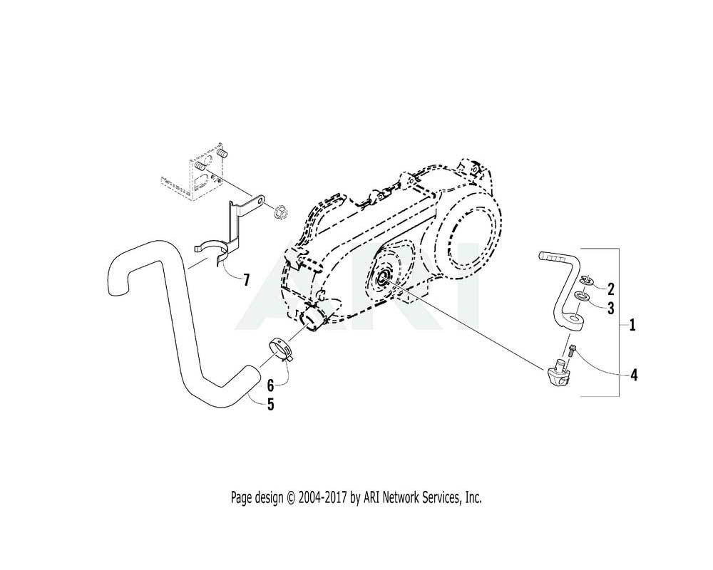 Arctic Cat OEM 3303-123 Arm Assembly Kick Starter | (Inc. 2 3)