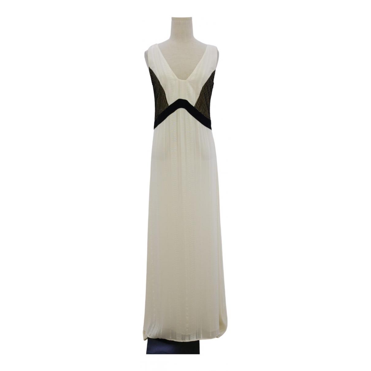 Zeus + Dione \N Ecru Silk dress for Women 38 FR
