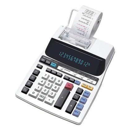 Sharp@ EL2201RII 12 chiffres calculatrice imprimante