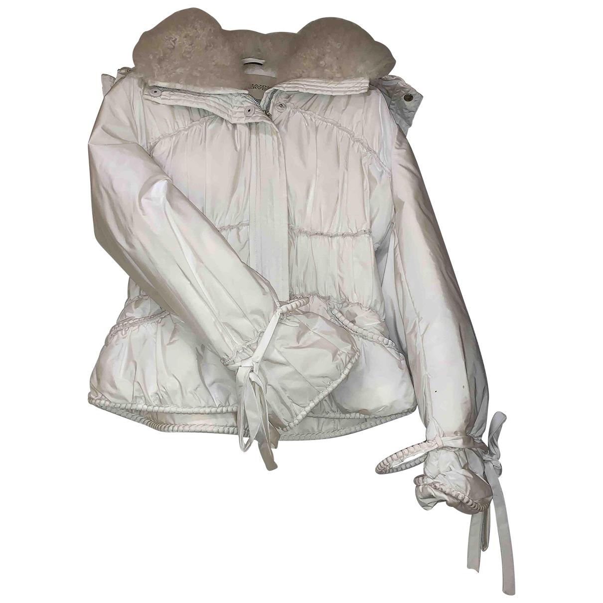 Ermanno Scervino \N White jacket for Women 44 IT