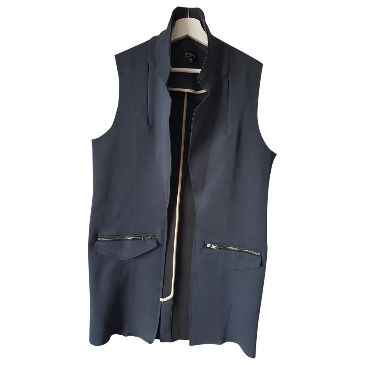 tophop \N Navy jacket for Women 36 FR