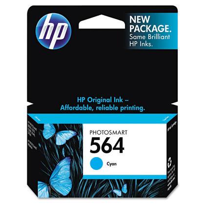 HP 564 CB318WN Original Cyan Ink Cartridge