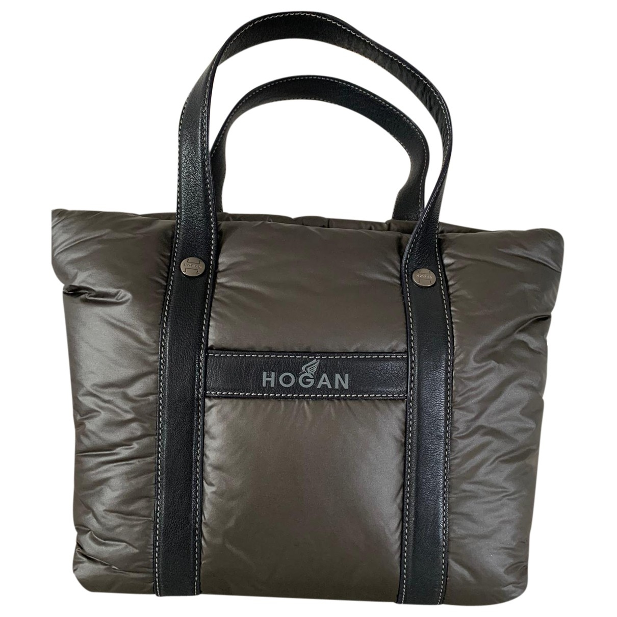 Hogan \N Anthracite handbag for Women \N