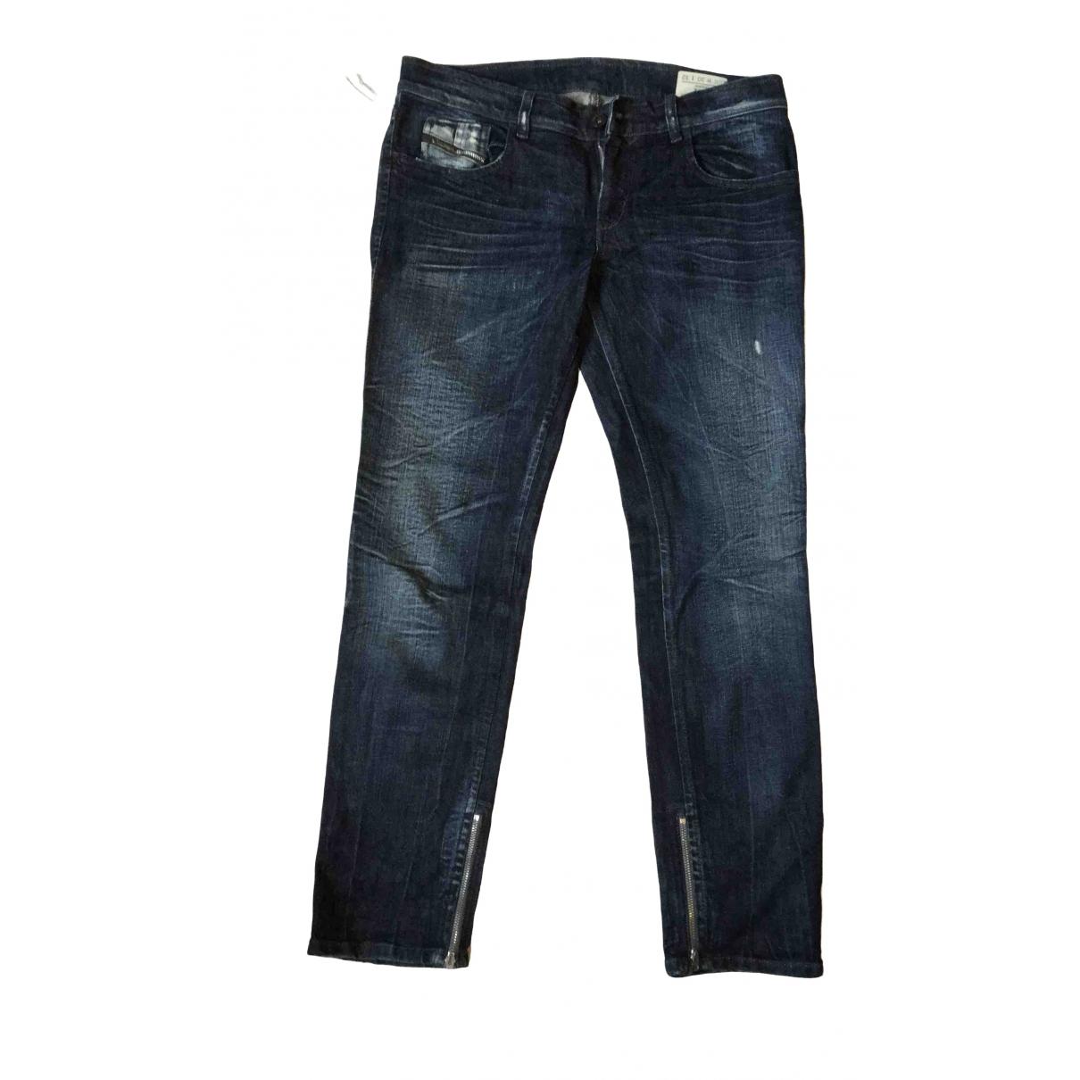 Diesel \N Blue Denim - Jeans Trousers for Women M International